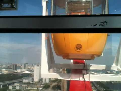 Tokyo Sightseeing - View from the tallest ferris wheel in Japan.  100% Clear Cart!!