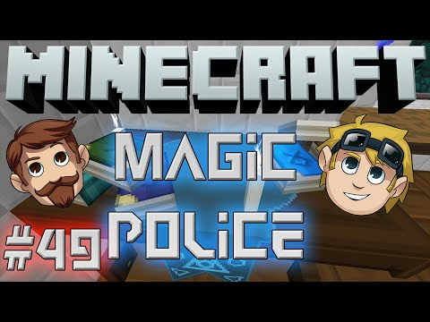 Minecraft Magic Police #49 - Teleportation Trolling (yogscast Complete Mod Pack) video