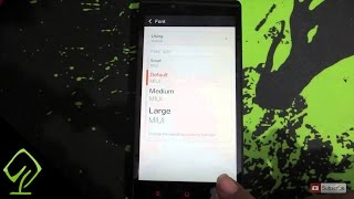 How to Change the Font Size on RedMI Note 4G, RedMI 1S, MI3, MI4 or any Android Phone Running MIUI