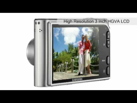 Samsung NV100HD Digital Camera (Black Silver)