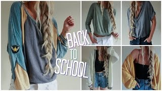 Back to School // Try On Haul!