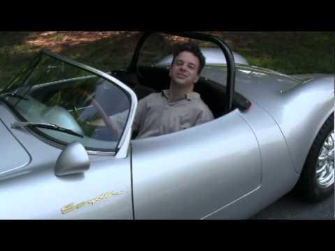Porsche Beck 550 Spyder Road Test and Review by Drivin' Ivan Katz