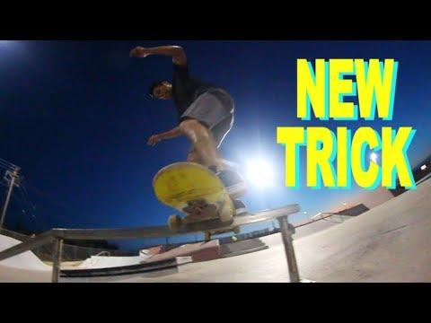 Big Flip Boardslide 270 Out - NEW TRICK