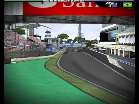 rFactor BR TEAM - F1 2010 - GP do Brasil