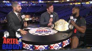 Tyron Woodley recaps UFC 228 win over Darren Till   Ariel & The Bad Guy   ESPN