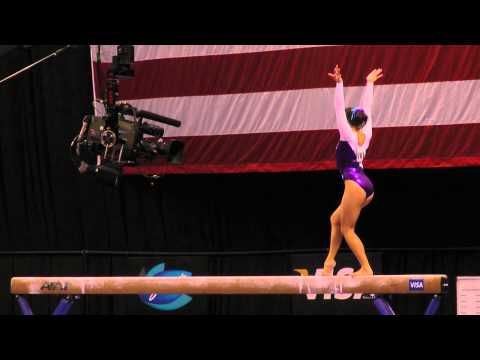 Anna Li -- Balance Beam -- 2012 Visa Championships -- Sr. Women -- Day 2