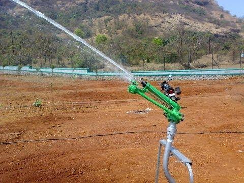 Vedant Raingun Irrigation Sprinkler India Pioneer Italian Agriculture
