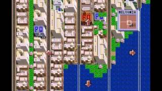 SimCity SNES - Megalopolis 500,000 People - Melvonia