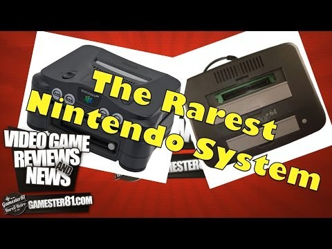 Very Rare Nintendo 64DD & Tristar 64 System Review-Gamester81