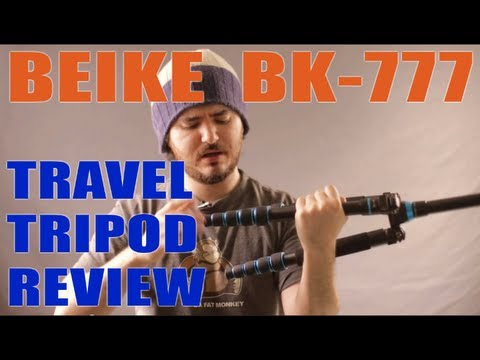 Beike BK-777 Review - Decent compact & lightweight travel tripod ($98)