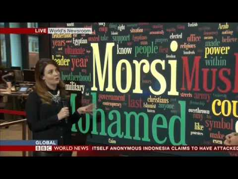 Mohamed El-Sayed (INTERVIEW WITH BBC WORLD TV on MORSI TRIAL 04NOV13