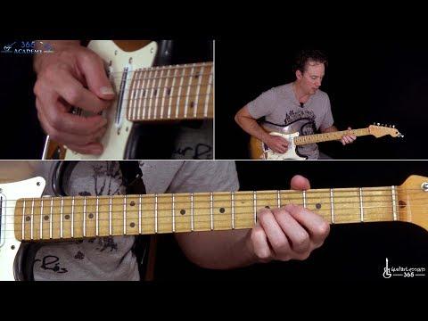 When The Curtain Falls Guitar Lesson (Full Song) - Greta Van Fleet