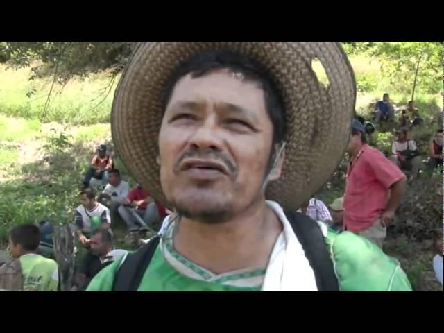 ¡El vídeo que el gobierno no quiere que veamos! Desalojo en Huila