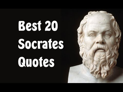 Best 20 Socrates Quotes (Author of The Apology)