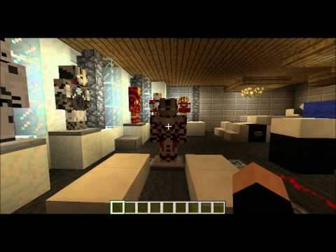 MINECRAFT IRONMAN 3 HOUSE AND MOD