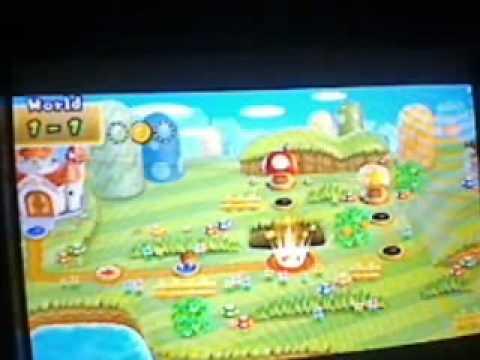 Lets Play! New Super Mario Bros Wii HellBoy Edition (Part 1)