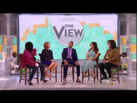 Nick Cannon on The View 10-09-14