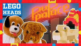 LEGO Dog Theme Builds in Real Life vs. LEGO Worlds - LEGO Heads