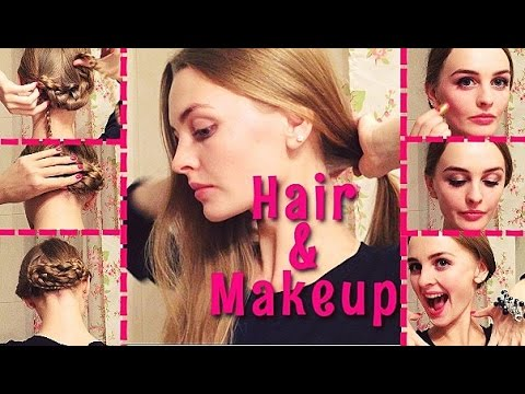 Прическа и макияж в стиле Dolce & Gabbana | Hair and Makeup Inspired by D&G