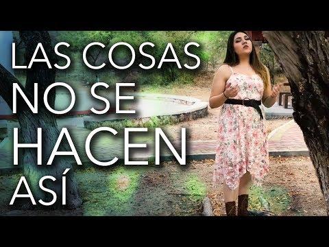 Las cosas no se hacen así / Banda Ms / Marián Oviedo (cover)