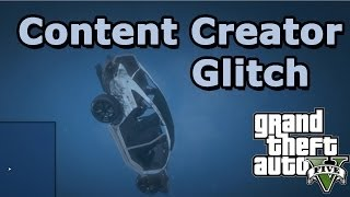 GTA 5 Online: Thanks for 5k + Funny moments with Content Creator glitch