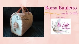 Tutorial : borsa bauletto all
