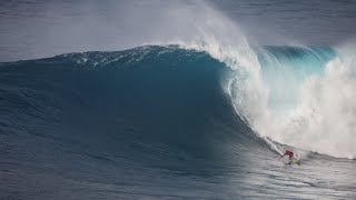 Jaws: Kelly Slater, John John Florence All-Star Surf Session at Peahi in Maui, Hawaii