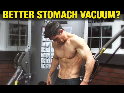 Modified Stomach Vacuum  THIS  Vacuum Exercise Before And After