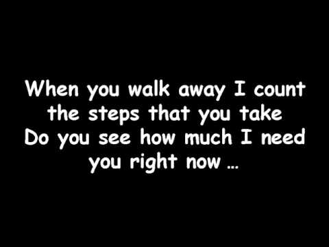 Avril Lavigne - When You're Gone - Lyrics video