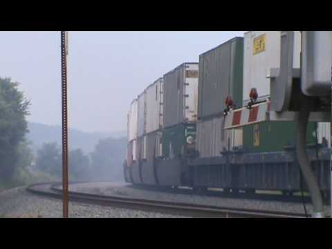 Norfolk Southern Pittsburgh Line Series - Part 15 - McVeytown, PA - 7/9/10 ©