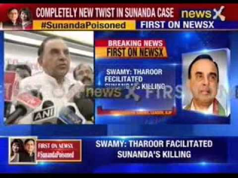 Shashi Tharoor knows who killed Sunanda: Subramanian Swamy