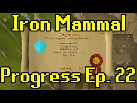 Oldschool Runescape - 2007 Iron Man Progress Ep. 22 | Iron Mammal