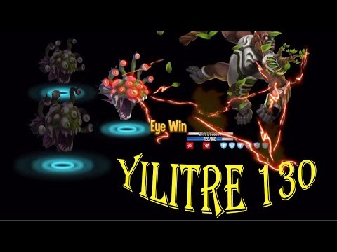 Monster Legends - Yilitre level 130 review combat best skill - ELDRITCH'S ABOMINATION MAZE ISLAND