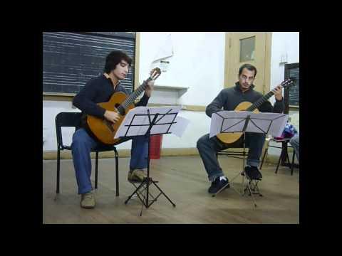 Antoine de Lhoyer - Dúo Concertante Op 31 No 1 - I. Allegro moderato - Dúo Almada-Molejón