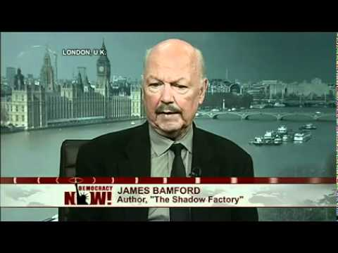 James Bamford: Inside the NSA's Largest and Most Expansive Secret Domestic Spy Center 1 of 2