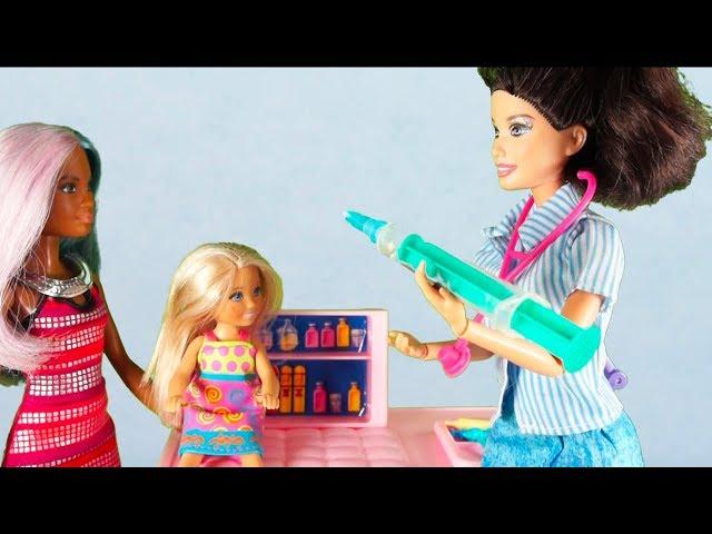 Rodzinka Barbie - Czy Tola jest chora? Bajka dla dzieci po polsku. The Sims 4. Odc. 73