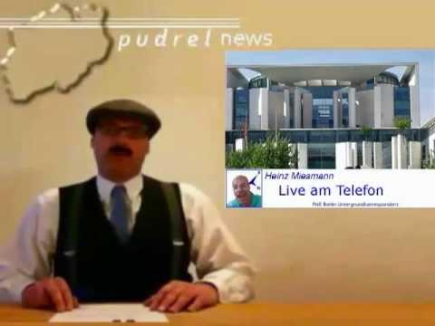 Pudrel News: Gauck entlarvt Merkel als Stasi- Spion
