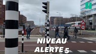 À Utrecht, les images de l'intervention de la police après la fusillade
