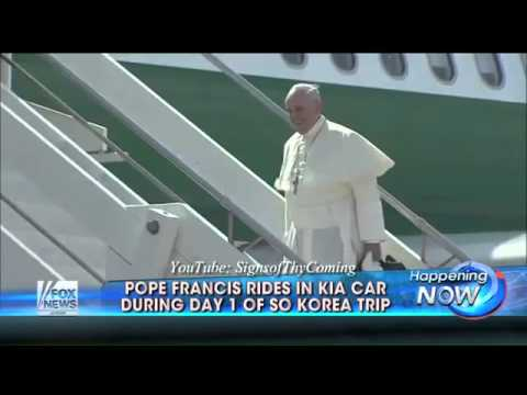Vatican: North Korea fires rockets as The Second Beast seduces the Seoul of Korea (Aug 15, 2014)