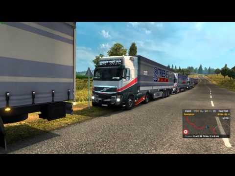 Euro Truck Simulator 2 Konwój Firmowy #3 3/4 W/MrBartass444 PrezesGaming