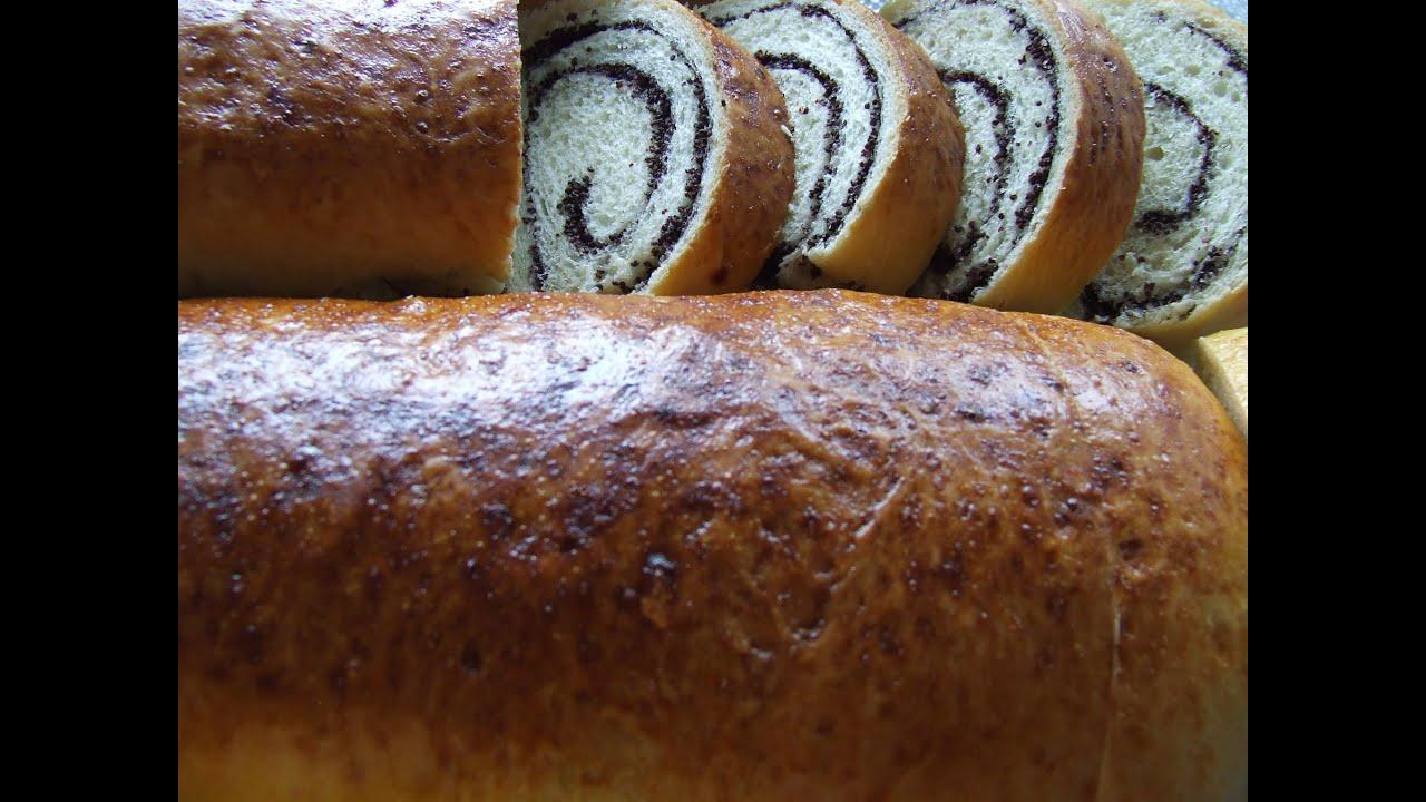 Рулет с маком в хлебопечке рецепты