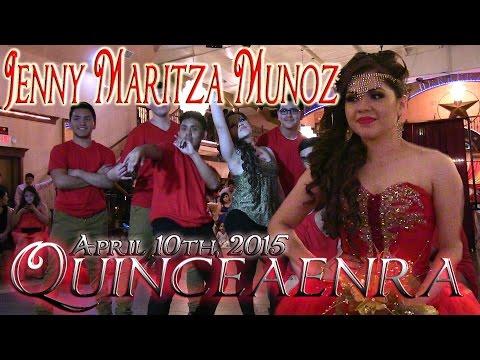 Jenny Maritza Munoz Quinceanera Surprise Dance | Baile Sorpresa | #rhythmwriterz