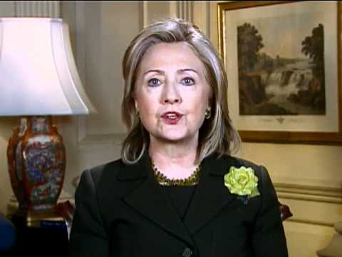 Secretary Clinton Celebrates the 100th Anniversary of International Women's Day