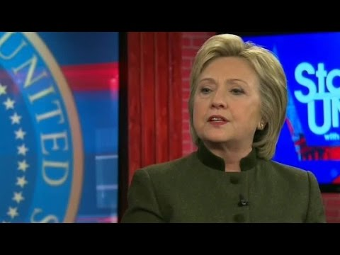 Clinton on sexism: 'We are still living with a doubl...
