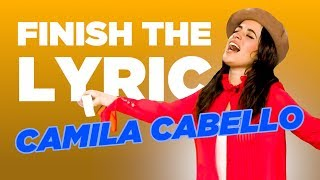 Download Lagu Camila Cabello COMPLETELY NAILS 'Finish The Lyric' Gratis STAFABAND