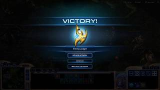 9 times silver v.s 4 times master -Starcraft 2 Wing of Liberty