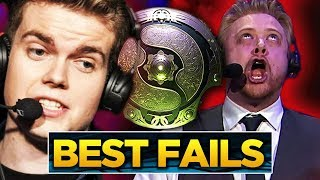 The BEST Fails and FUNNIEST Moments of The International 2018 - Group Stage Dota 2 #TI8
