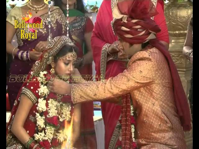 On location of TV Serial ''Uttaran'' Marriage ceremony of Mithi & Vishnu Part 2