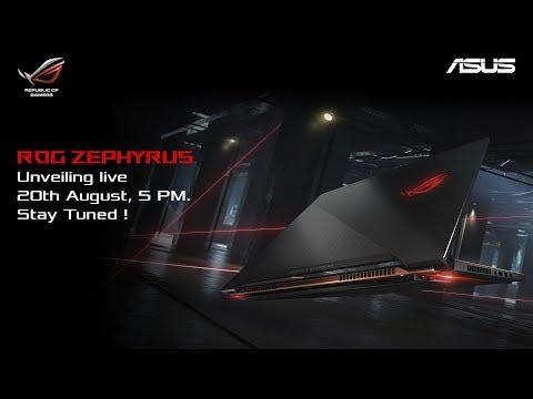 Unveiling ROG Zephyrus - World's Slimmest Gaming Laptop with NVIDIA® GeForce® GTX 1080! thumbnail