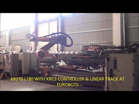 KR210 L 180 WITH LINEAR TRACK